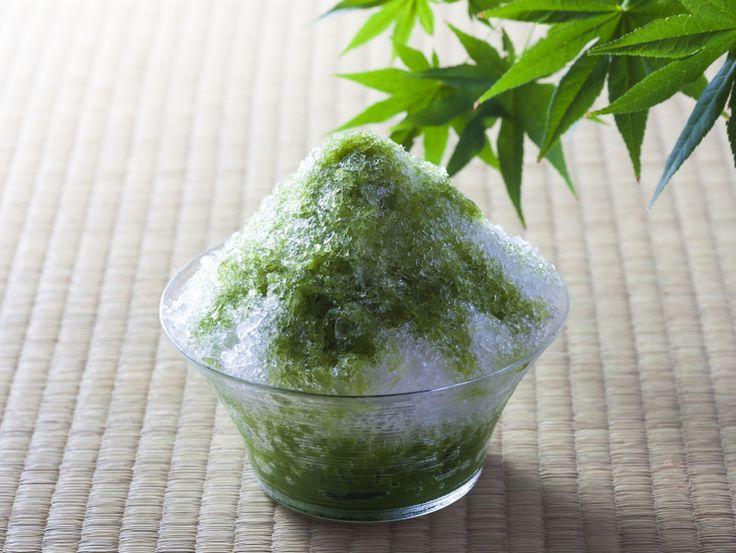 抹茶好きにはたまらんお茶専門店の本格派かき氷5選