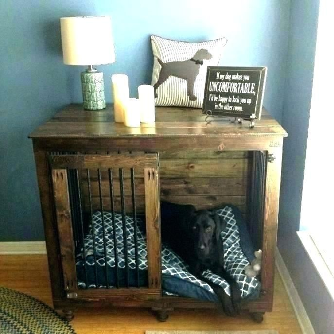 Dog Crate Table Top Dog Crate Side Table Dog Crate Nightstand Dog