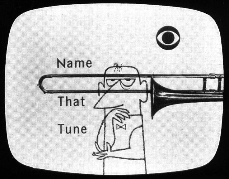 """Name That Tune: Midcenturia: """" Name That Tune, Illustration By Arnold"""