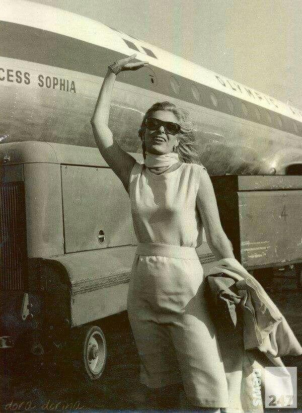 Melina !erkouri Greece Olympic airways