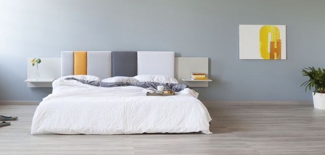 Stylish Pillows as Comfy Additions to Bed Headboard: Comoditi by Formabilio