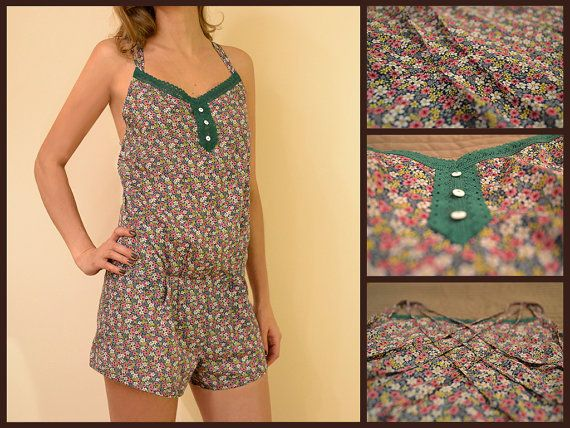 MildDream Pajamas Set In Green Color With Flowers by MildDream