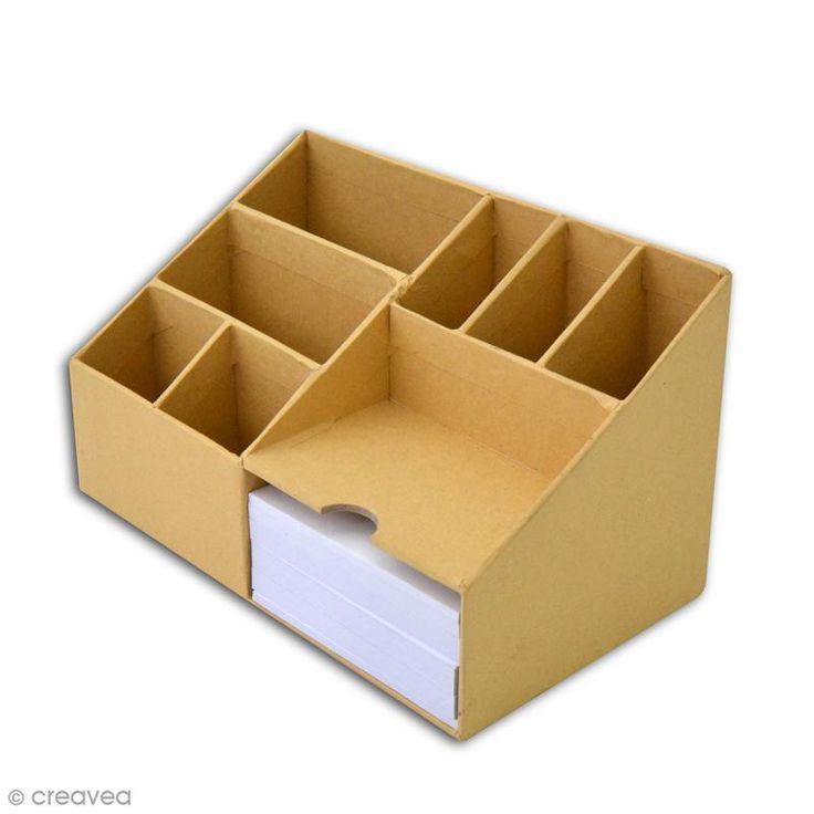 Compra nuestros productos a precios mini Organizador de escritorio- 8 compartimentos - 21 x 12 cm - Entrega rápida, gratuita a partir de 60 € !