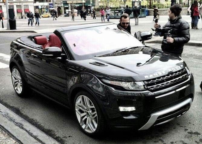 Range Rover Evoque Convertible 2014.