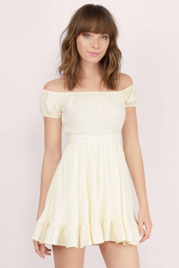 Spectacular Skater Dress On Tobi This Pastel Yellow Is So Gorgeous For Easter Graduation And Even