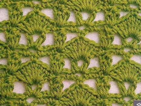Patrón #1208: Punto Abierto a Crochet | CTejidas [Crochet y Dos Agujas]