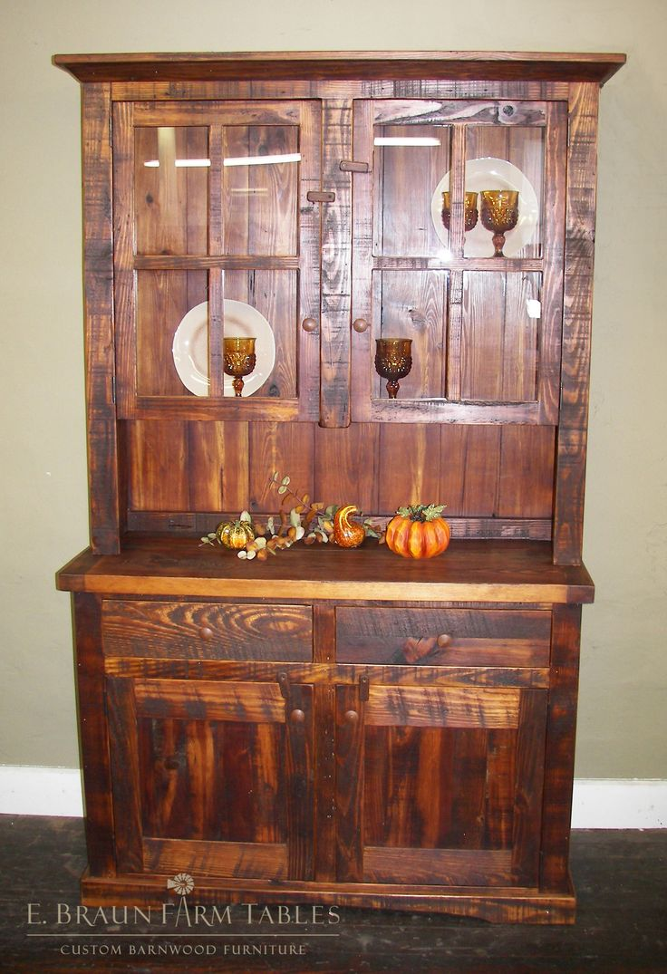 Farm Wood Furniture ~ Best hutches images on pinterest reclaimed barn wood