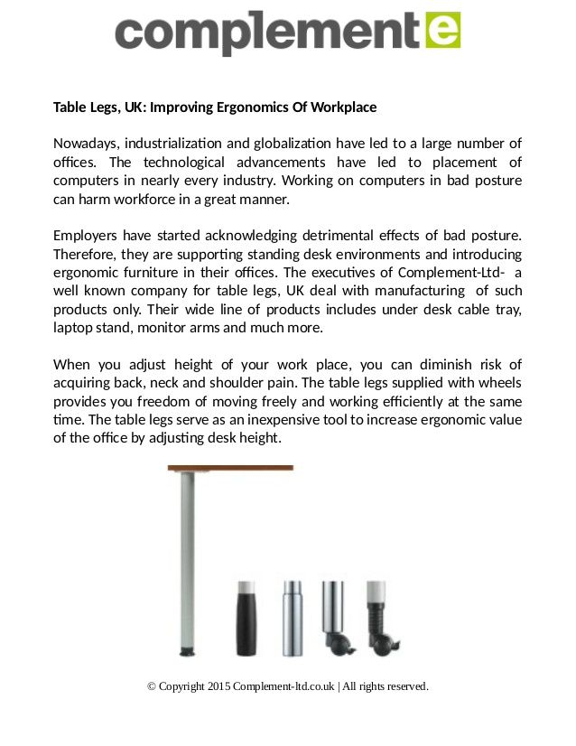 Shop for the best adjustable table legs & frames, in many different colors & materials. Order tables legs from available sizes, colors, shape & quality today!