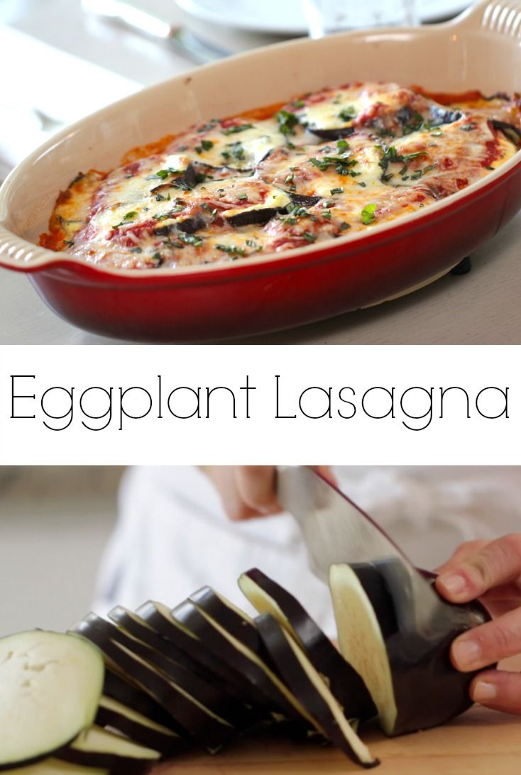 Great Meatless Monday dinner idea! A vegetarian lasagna that is also Gluten-Free! (No Noodles!) Recipe + Video Tutorial