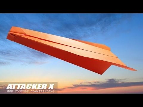 how to make cool paper planes that fly far