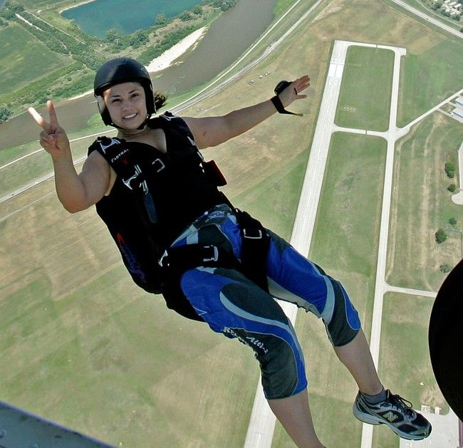 The only women who are allowed to skydive in Florida on a Sunday are married women. All others are banned, including divorced, single, even widowed women.