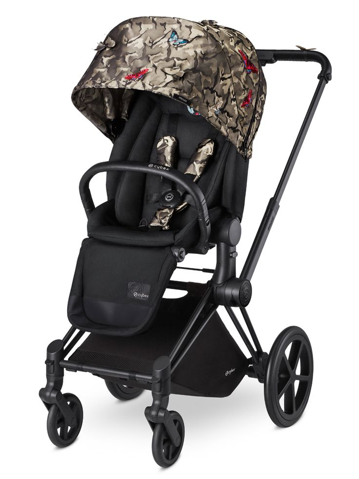 Statement-Making Strollers Give baby a cool new ride with one of these 6 statement-making strollers. CYBEX PRIAM BUTTERFLY COLLECTION
