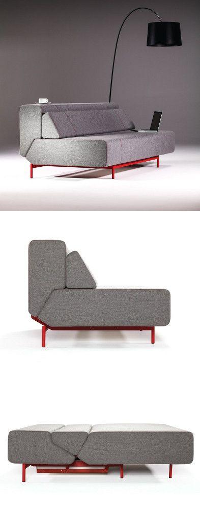 PIL-LOW sofa-bed by Prostoria by Kvadra #furniture #design #furnituredesign #lounge #sofa #recliner