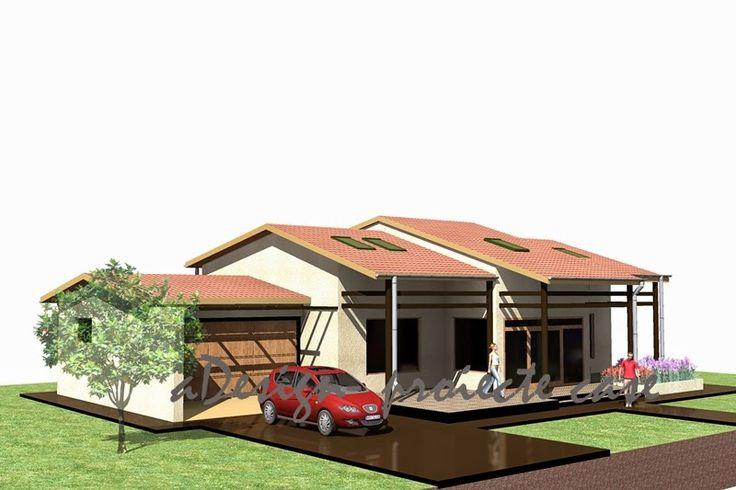 proiecte case, constructii, design: locuinta individuala cod 04Li