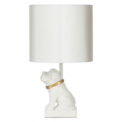 Silverwood Products Gold Accented Dog Resin Table …