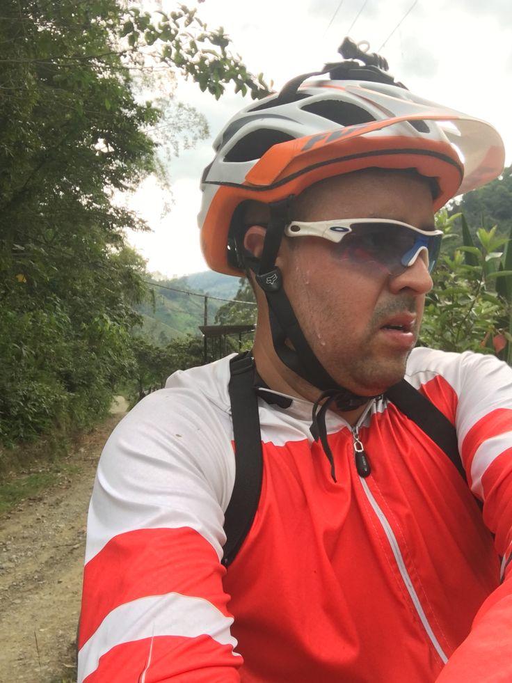 Un descanso en largas jornadas de pedaleo.