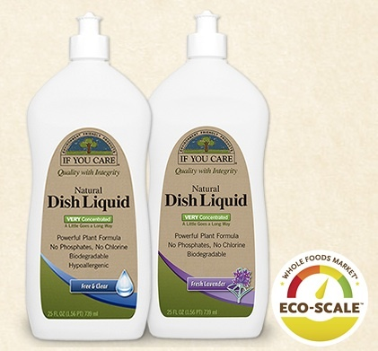 Natural, plant-based cleaning ingredients make If You Care® the natural choice for your dishes, your skin, and the environment. But it also has concentrated cleaning power so it's extra tough on grease and dried food.. #Non-toxic, no #phosphates, #chlorinefree, #biodegradable, #hypoallergenic --and STRONG. Clean and Simple  http://www.ifyoucare.com