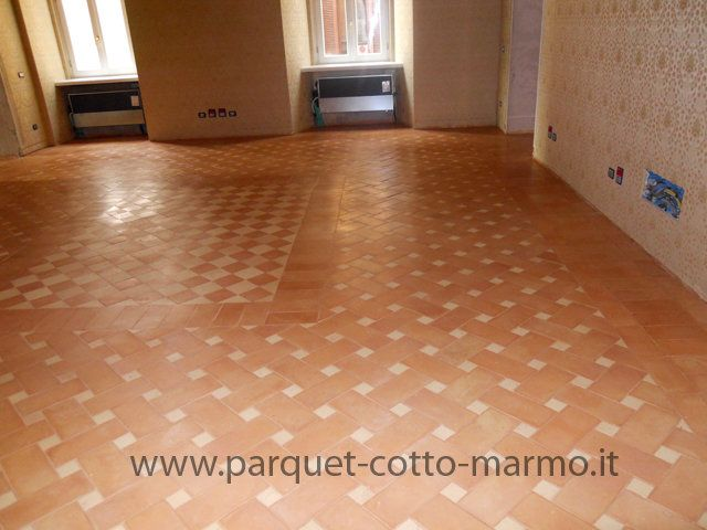 131 best images about pavimenti in cotto a roma on - Pulire cotto interno ...