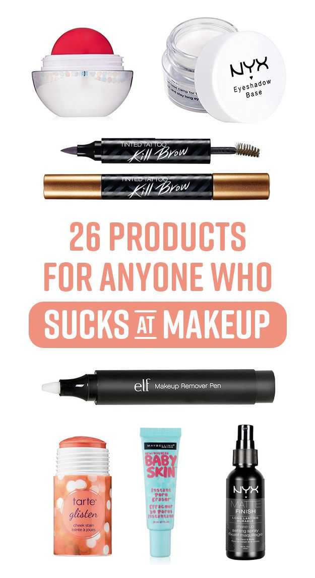 26 Products For People Who Love Makeup, But Suck At Putting It On