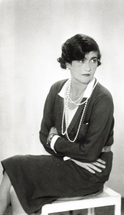 Gabrielle 'Coco' Chanel 1930 - Paris - Photo by Man Ray