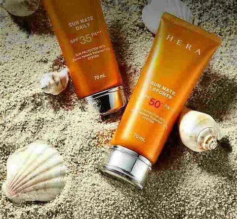 DLA韩国化妆店,    韩国爱茉莉太平洋集团旗下高端品牌HERA赫拉♡赫拉防晒霜