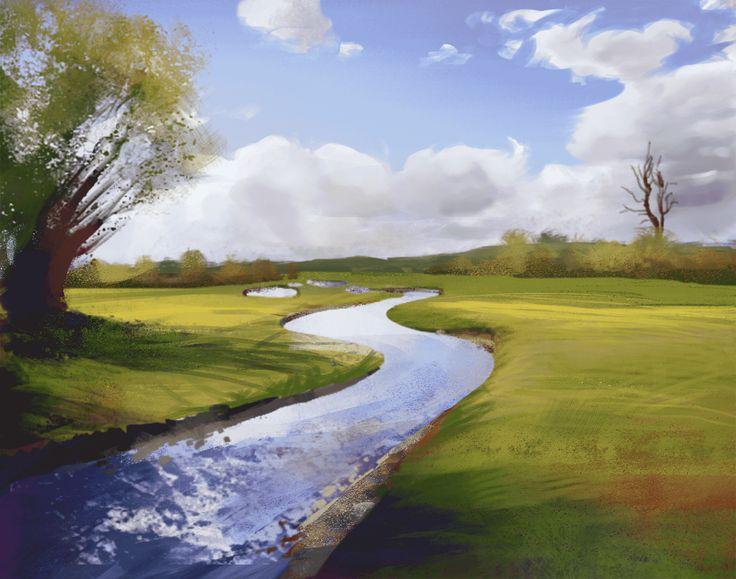 Oana's Artblog: Landscape