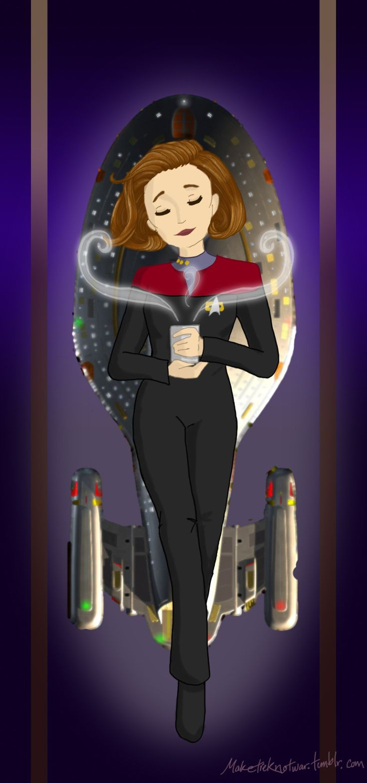 Captain Janeway, Our Lady of Coffee (Black)