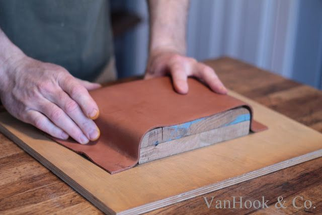 Molding a Leather Handbag