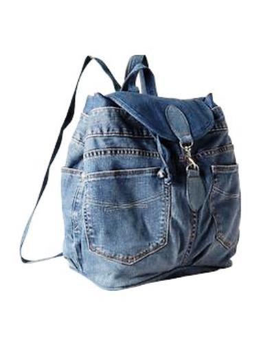 mochila con jeans reciclado