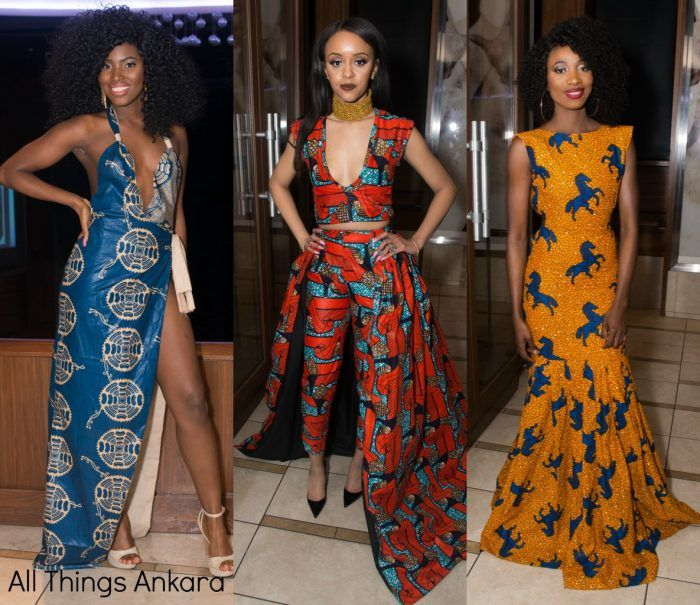All Things Ankara Best Dressed Women at the Exquisite Ghana Independence Ball 2016 Collage