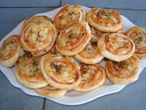 Pizza slimáčiky