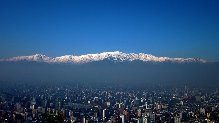 Cerro San Cristobal: Santiago, Chile
