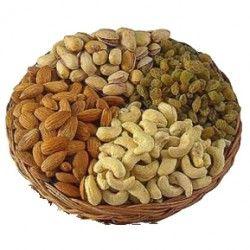 1) CashewNuts.  2) Almonds.  3) Pista.  4) Kishmish. http://thetradeboss.com/deals_detail.php?id=76