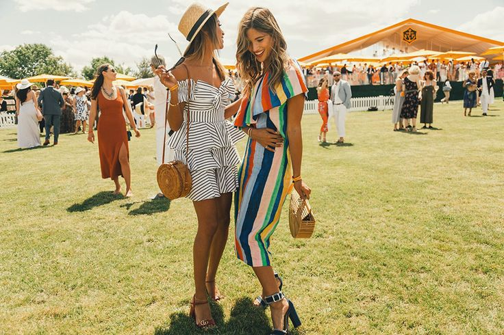 What to Wear to the Veuve Clicquot Polo Classic.