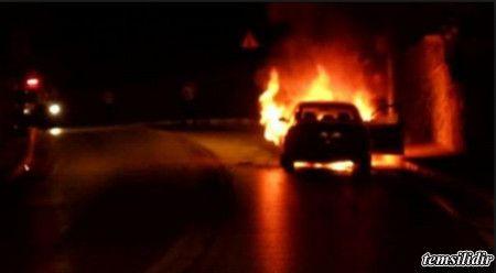 #haber #haberler #TEM #gaziosmanpasa #kaza Tem otoyolunda bir araç seyir halinde iken alev aldı.