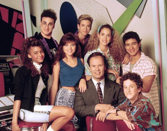 Behind the scenes of Saved by the Bell!