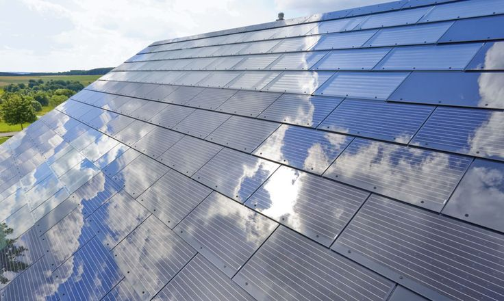 A New VShape Roof Can Collect Solar Power, Wind Power and