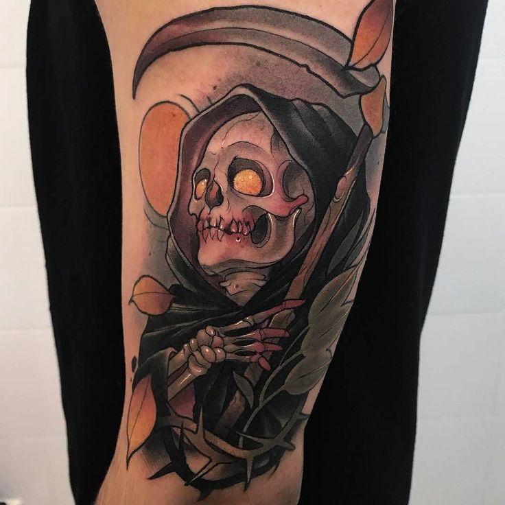 25 best ideas about reaper tattoo on pinterest grim