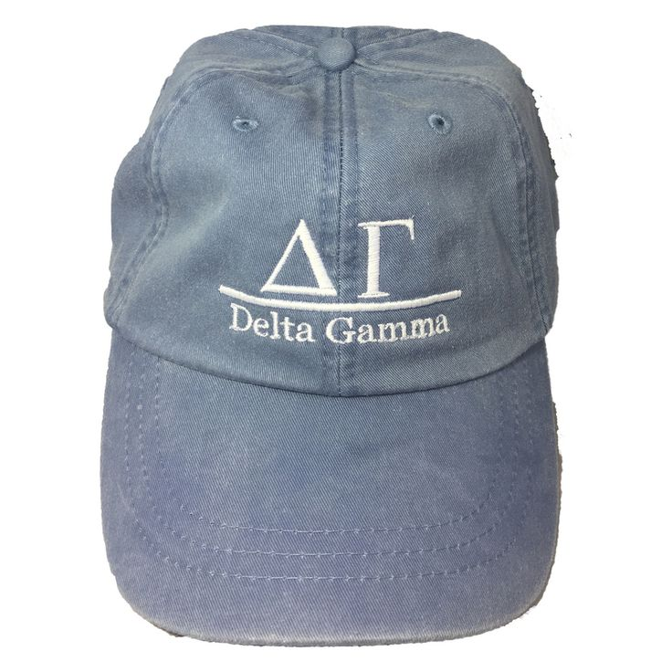 Delta Gamma Sorority Hat- Periwinkle - Brothers and Sisters' Greek Store