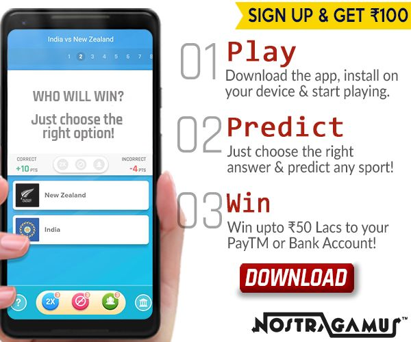 Play,Predict and Win upto Rs 50 Lacs to your PayTM or Bank