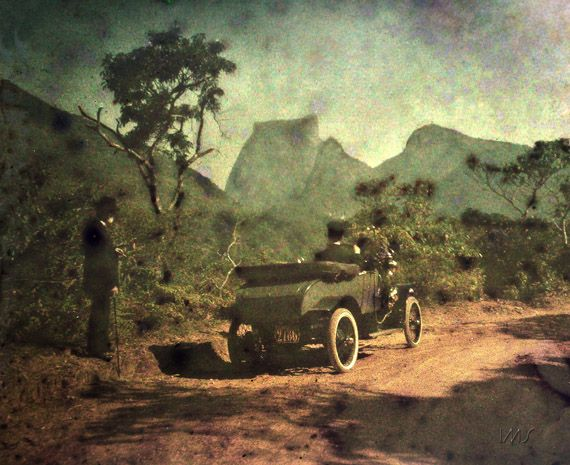 Pedra da Gávea a partir do Alto da Boa Vista, c. 1914