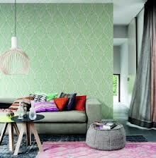 Hooked on Walls Boho Chic #behang #groen #green wallpaper