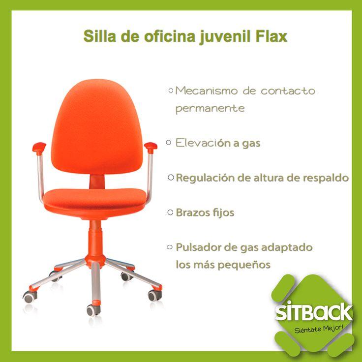 10 best sillas de oficina images on pinterest office for Ergonomia en la oficina