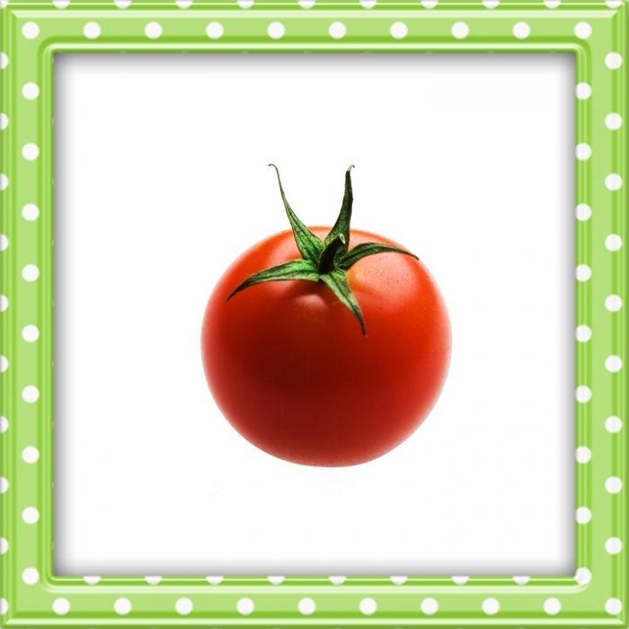 Syksyn satoa: tomaatti.