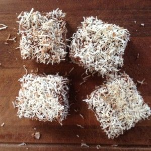 I Quit Sugar - Sugar-free lamingtons