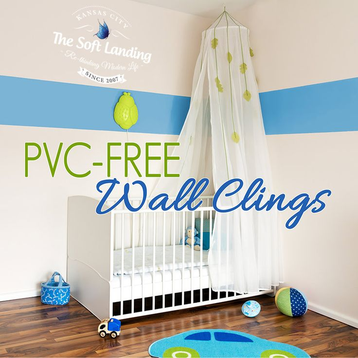 PVC-free Wall Clings for a Healthy Nursery