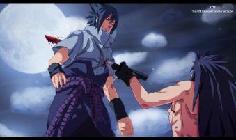 Madara Stabbed Sasuke