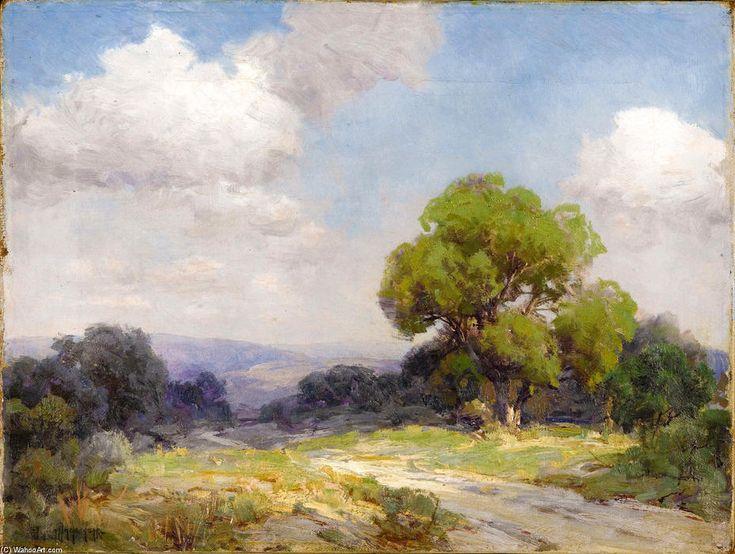 Matin dans le sud-ouest du Texas Hills de Robert Julian Onderdonk (1882-1922, United States)