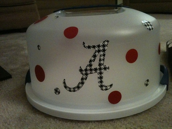 Alabama Roll Tide Cake Carrier