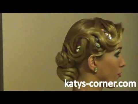 This is a tutorial for ballroom dancers to do an advanced ballroom hairstyle. It's called advanced hairstyle, because you should try a few times, before wear...